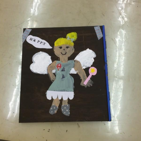 絵画造形教室 木製ファイル