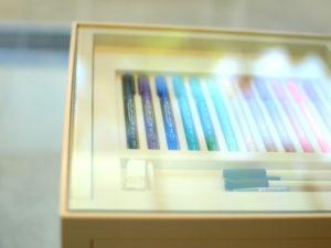 太宰府竈門神社の社務所のペン