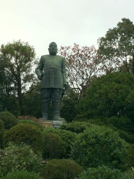 鹿児島 西郷さんの銅像