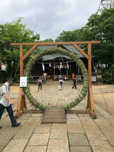 四柱神社 夏越の大祓式