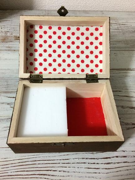 アクセサリーボックス 刺繍