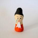 紙粘土作品 メッセージ人形