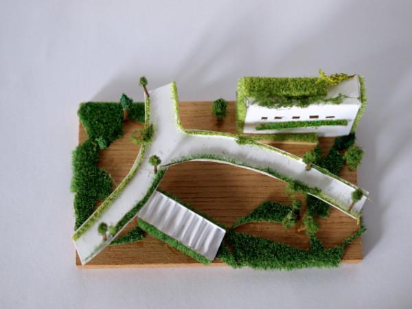 ペーパークラフト 空中庭園
