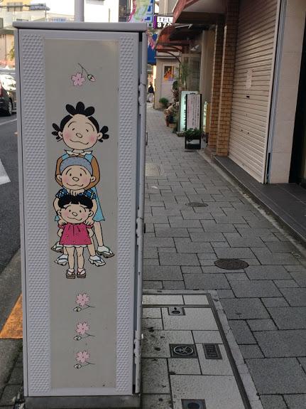 桜新町サザエさん通り