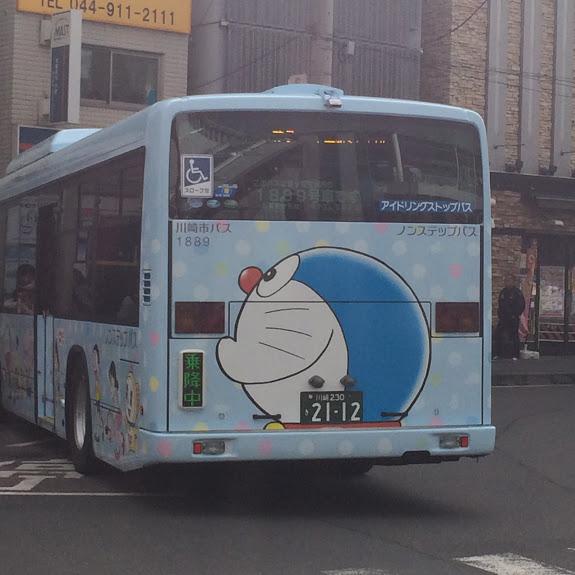 ドラえもんバス