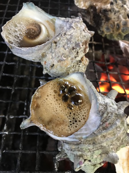 牡蠣小屋 サザエ