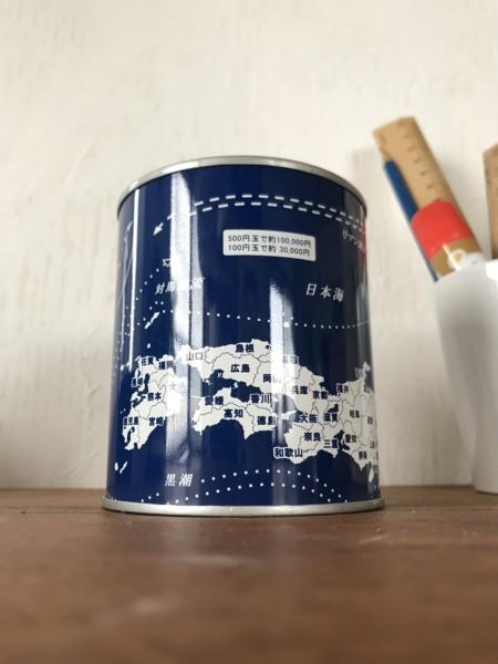 日本地図 貯金箱