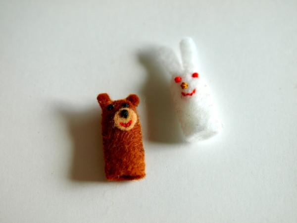 ミニチュア 指人形