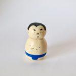 石粉粘土 作品 お相撲さん