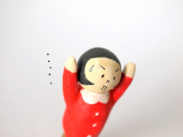 石粉粘土人形 フィギュア