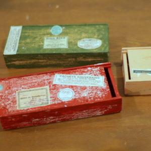 木製の筆箱