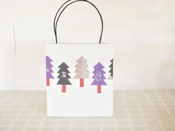 手作り紙バッグ