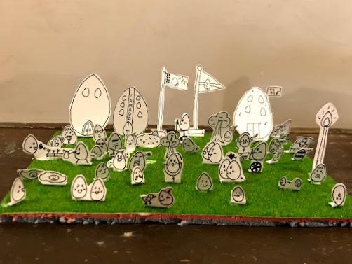 子どもの作品 造形教室