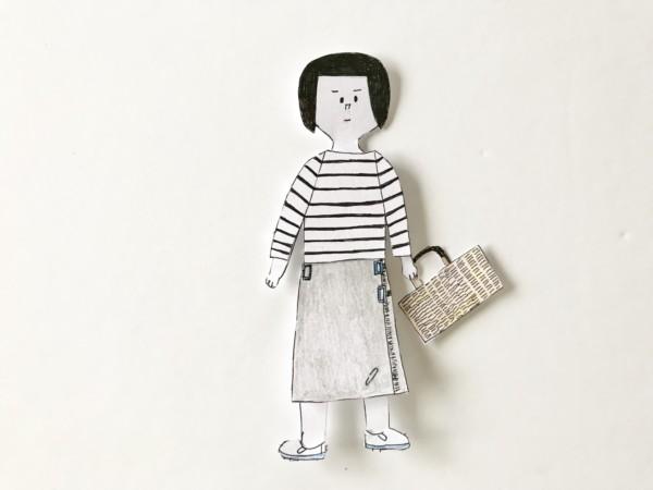 着せ替え人形 自作
