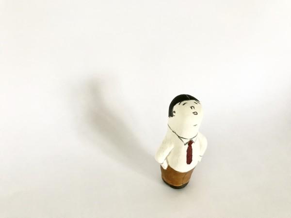 石粉粘土人形
