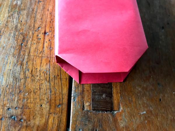 マチがある紙袋 作り方
