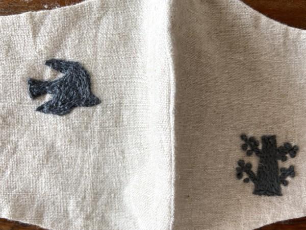 刺繍 チェーンステッチ