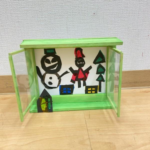 子どもの絵画造形教室作品